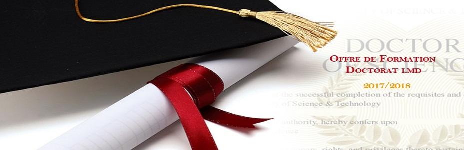 Doctorats habilités année 2017-2018