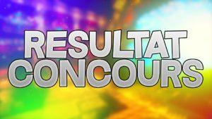 resultat concours